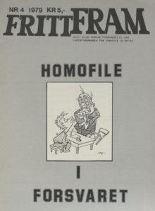 1979 Fritt Fram Homofile i Forsvaret