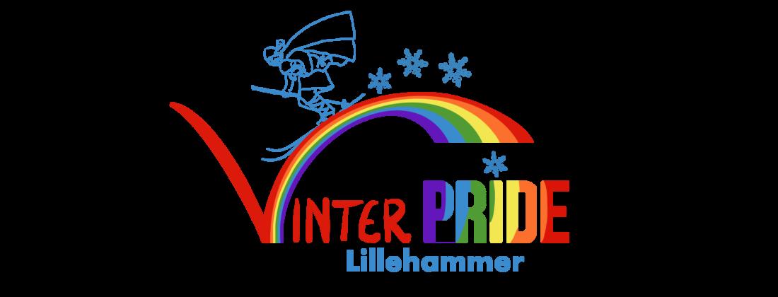 Vinterpride Lillehammer logo, design: Hildegunn Hodne